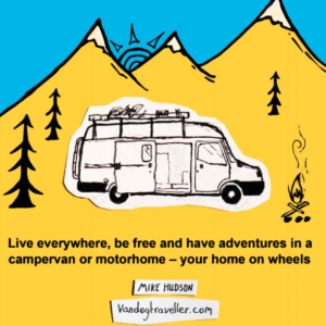 How to live in a van and travel.