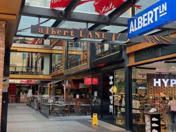 Albert Lane, Brisbane