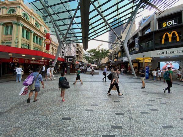 Queen Street Mall - Brisbane